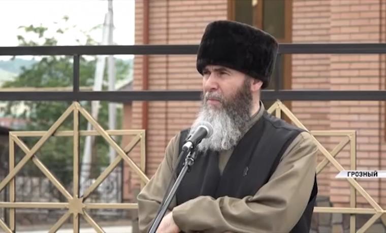 В поселке Красная Турбина в Грозном открылась мечеть на 1 000 человек