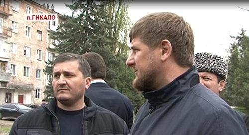 Глава Чеченской Республики Рамзан Кадыров посетил поселок Гикало Грозненского района
