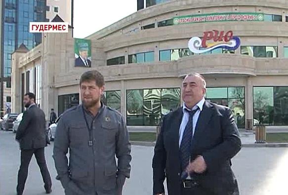 Инспекционная поездка Рамзана Кадырова в Гудермес и Аргун