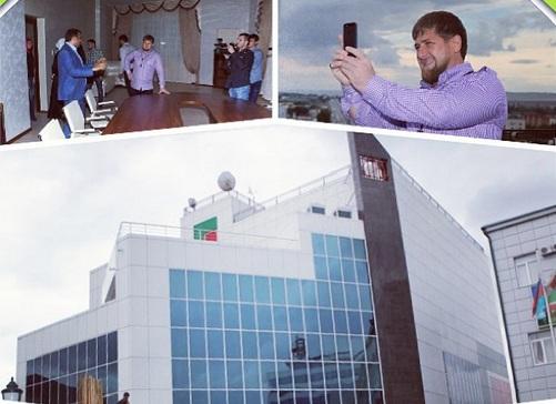Рамзан Кадыров проинспектировал новый аппаратно-студийный комплекс телеканала «Грозный»