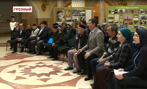 Чеченские художники принимают поздравления