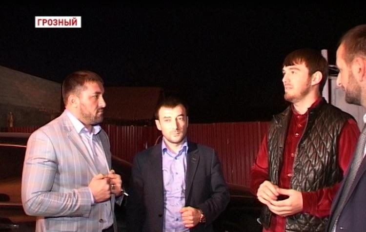 Очередная инспекция Ислама Кадырова по ул. Дьякова
