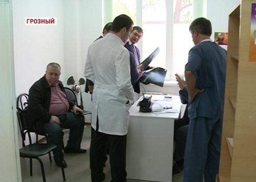 В Грозном врачи из Санкт-Петербурга проведут прием больных