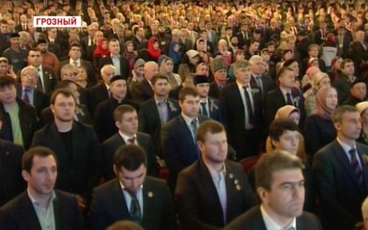 В Грозном прошло торжественное собрание в честь Дня Конституции Чеченской Республики