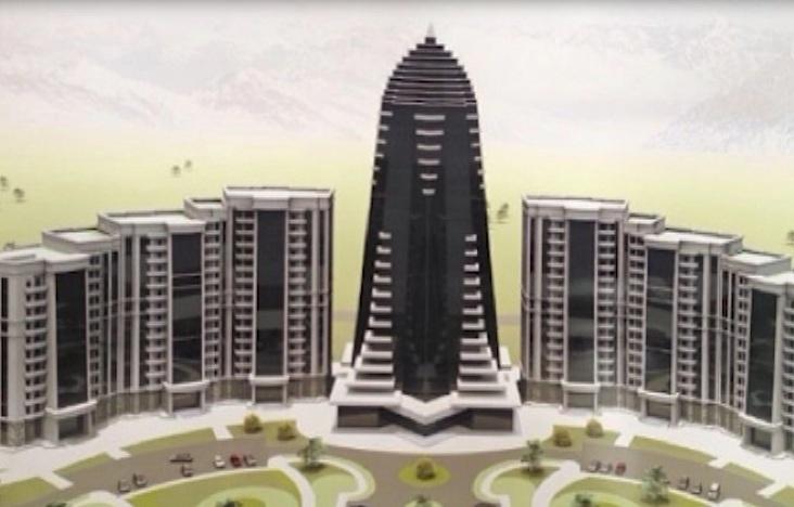 Комплекс высотных зданий возведут в г.Шали