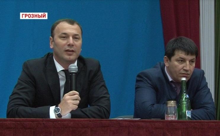 В Президентском лицее состоялась встреча Арби Тамаева и Анзора Музаева с жителями Республики