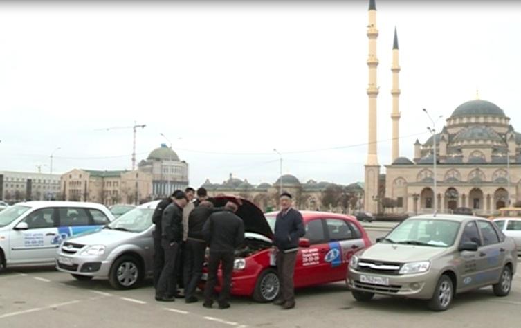 В Грозном прошел Тест-Драйв автомобилей дилерского центра «Лидер авто»