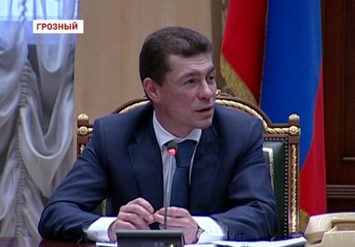 М. Топилин в Грозном провел совещание с министрами труда СКФО