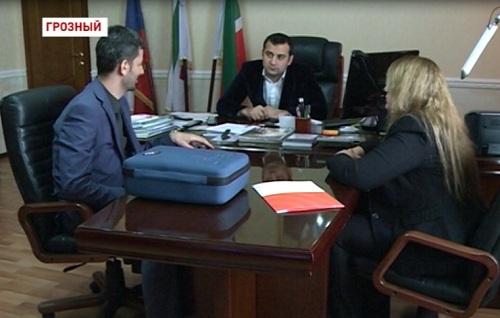 Встреча дирекции телеканала «Грозный» с израильскими инженерами