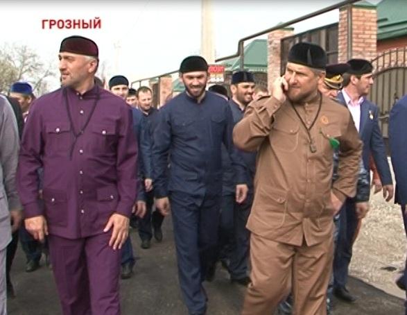 Рамзан Кадыров принял участие в открытии мечети на 12-м участке Грозного